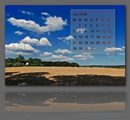 Landscapes Calendar app screenshot
