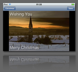 Greeting Cards app screenshot